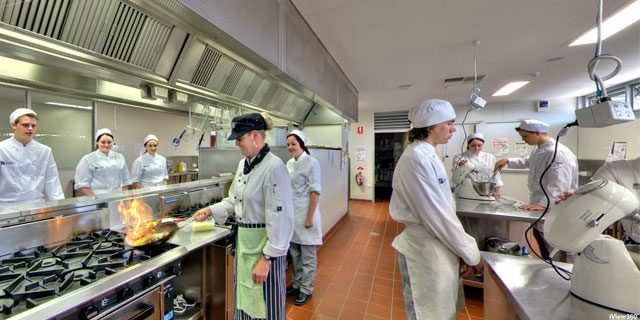 Commercial Kitchens and Dining Rooms